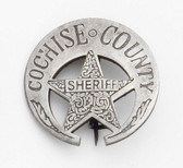 Cochise County Marshal Badge