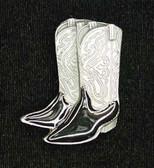 Cowboy Boots Bolo Tie