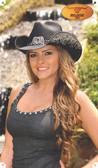 COWGIRL FANTASY  Straw Cowboy Hat by Bullhide® Hats.