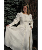 COTTON DAY DRESS / Pioneer Dress (5 Colors)