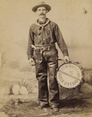 Cowboy Drummer Dodge City