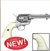 Doc Holliday faux Ivory Handles Replica Six Shooter