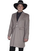 Dove Mens Frock Coat Jacket By Scully Leather