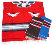 Eagle Design Mexican Poncho 43068