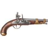 1800 French Cavalry Flintlock Pistol