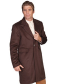 ESPRESSO Mens Frock Coat Jacket By Scully Leather
