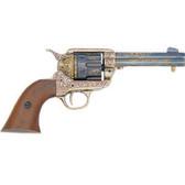 FD1280L.45 Army Revolver - Engraved Brass