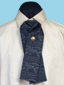 Floral Tombstone Tie
