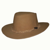 Fishnet All Leather Cowboy Hat