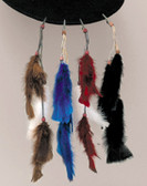 Feather Tail Clips Hat Band