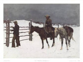 Frederic Remington The Fall of the Cowboy 57622