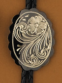 German Silver Bolo Tie