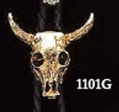Gold Longhorn Bolo Tie  Made in the USA
