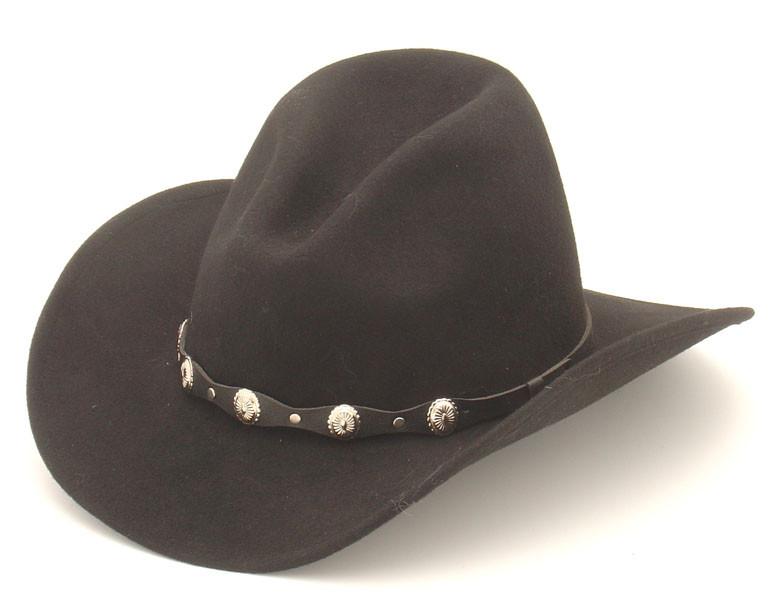 25841ec836c Gus  Cowboy Hat Black UJP TO XXL SIZE
