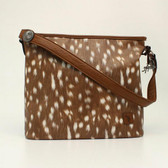 Angel Ranch Tote Concealed Weapon Deer Collection Brown