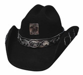 Jesse James Wool/Felt Hat Cowboy Hat