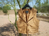 "John Wayne ""Duke Vest"" NEW All Suede Both Side"