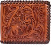 3D Natural Western Bifold Wallet 63263