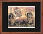 KEEPER OF THE PLAIN BY DAVID BEHRENS Framed Print XL