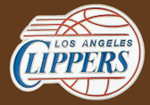 "LA Clippers NBA Buckle  3"" x 2-1/4"""