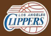 "LA Clippers NBA Buckle  3"" x 2-1/4"""