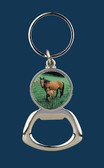 Key RIng Bottle Opener Mare & Colt