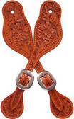 3D Tan Large Spur Straps
