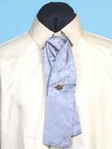 Morgans Puff  Silk Tie Grey