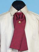 Morgans Puff  Silk Tie Red