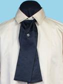 Morgans Puff  Silk Tie Black