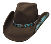 NATURAL BEAUTY Felt Cowboy Hat by Bullhide® Hats.