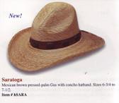 NEW 2009 SARATOGA GUS Cowboy Hat Cowboy Hat