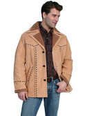 NEW 2009 WHISKEY BOAR SUEDE JACKET MENS JACKETS