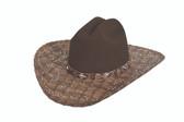 ONE MORE TIME FELT Cowboy Hat by Bullhide® Hats.