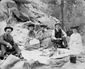 Picnic On The Rock 1905