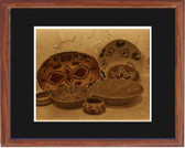 Pima Baskets Framed