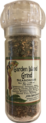 Garden Island Grind Seasoning - 1.05 oz. Refillable Grinder