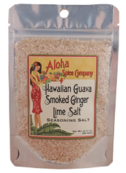 Hawaiian Guava Smoked Ginger Lime Salt - 2.11 oz. Stand Up Pouch