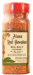 `Alaea Red Hawaiian Sea Salt (Coarse) 4.23 oz Plastic Shaker