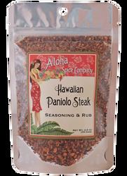 Aloha Spice Company - Hawaiian Paniolo Steak Seasoning & Rub - 2.5 oz. Stand Up Pouch