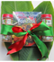 Sampler size spice set with four Organic Seasoning Rubs & Cookbook.  Holiday bow included. All four rubs come in plastic jars with shaker tops and screw caps. Four flavors with the book are:   Organic Aloha Prime Steak Organic Aloha Chicken & Pork  Organic Aloha Seafood Organic Aloha Luau BBQ