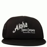 Black Aloha Spice Company Trucker Hat