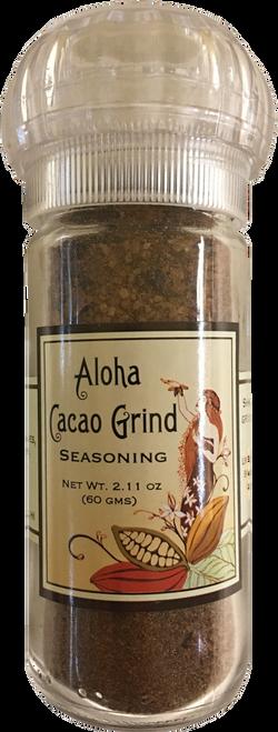 Aloha Cacao Grind 2.11 oz. Refillable Grinder
