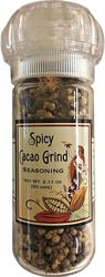 Spicy Cacao Grind 2.11 oz. Refillable Grinder