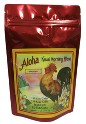 Aloha Kauai Morning Blend Ground Coffee