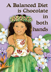 Keiki Chocolate Magnet