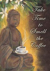 Buddha Coffee Magnet