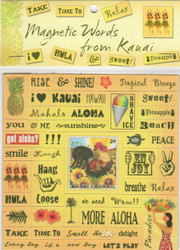 Magnetic Words from Kauai