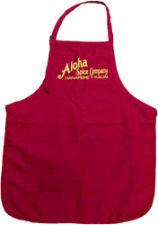 Red & Yellow Aloha Spice Company Apron