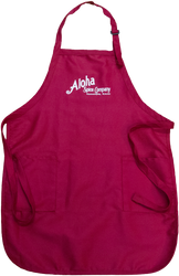 Red & White Aloha Spice Company Apron